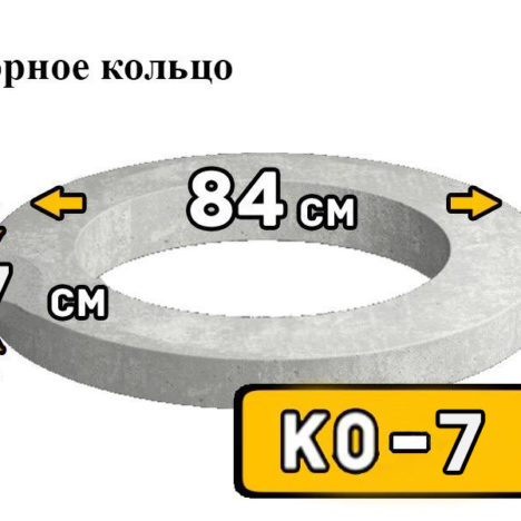 Кольцо опорное КО 7 - фото