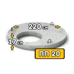 Крышка колодца ПП 20-1 - фото