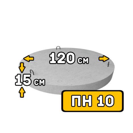 ЖБИ днище ПН-10 - фото